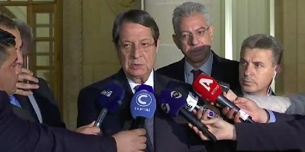 Rum Lider Nikos Anastasiadis BM'nin yeni bir süreç için devreye girmesini istedi