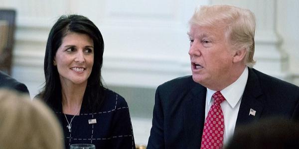ABD'nin BM Daimi Temsilcisi Nikki Haley'den Tramp iddialarına cevap: İlişkilerimiz mükemmel