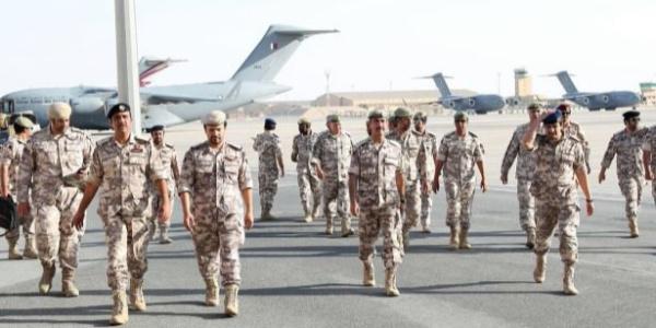 Suudi Arabistan ilişkilerini kestiği Katar'la tatbikat yaptı