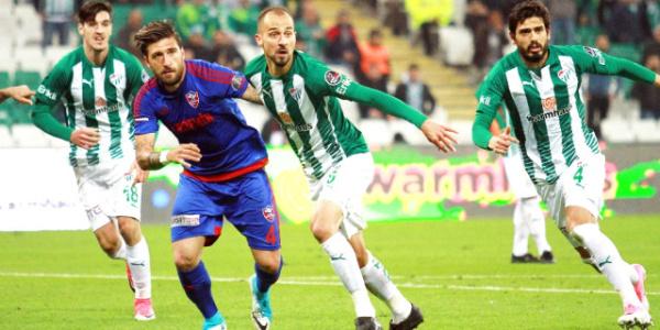 Kardemir Karabükspor evinde Bursaspor'a farklı yenildi:1-4