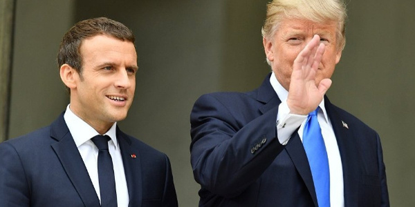 Trump ile  Macron Beyaz Sarayda İran'ı konuşacak