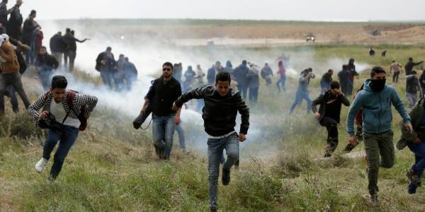 Filistinlilerin Büyük Dönüş Yürüyüşü'nde şehit sayısı 40 oldu