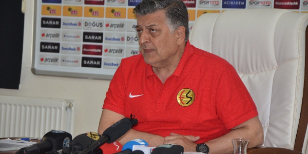 Eskişehirspor hocası Yılmaz Vural  Gaziantepspor için destek istedi