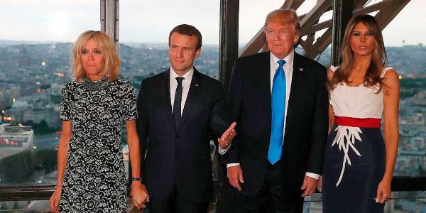 First Lady Macron'dan Melania Trump'la ilgili flaş sözler: Hapis hayatı yaşıyor