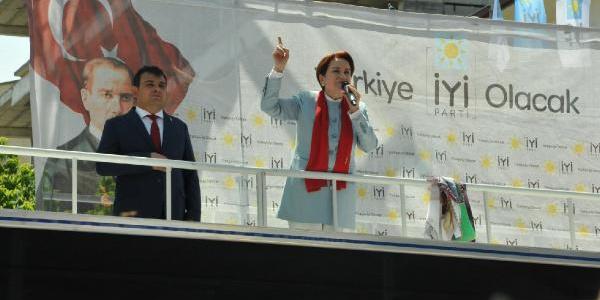 Meral Akşener'den ültimatom:  YSK'nın önünde Jiletle kazıyamayacaklar beni