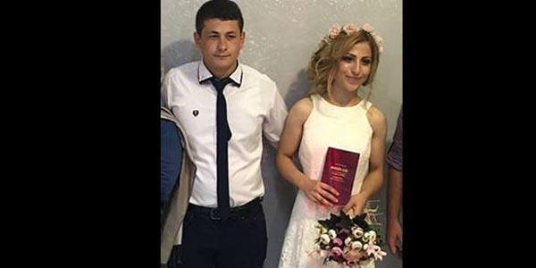 Düğün sabahı 16 bıçak darbesiyle karısını katleden şahsa ömür boyu hapis talebi