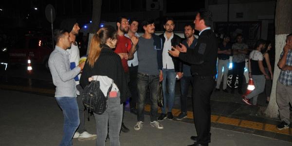 Aydın'da bir grup genç heyecan olsun diye çatıdaki şahsı intihara zorladı