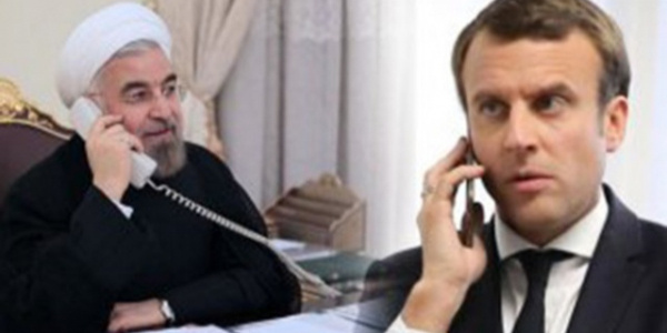 Macron ve Ruhani'den  nükleer konusunda 'devam' kararı