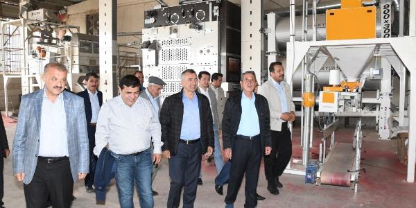 Türk girişimciler Adıyaman'ı sertifikalı tohumun merkezi yapacak