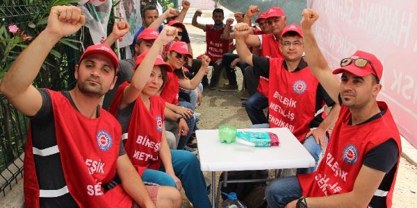Manisa'da fabrikaya sendikayı sokan işçiler işten çıkarıldı iddiası
