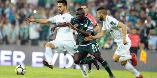 Bursaspor, Atiker Konyaspor'u eli boş yolladı: 2-1