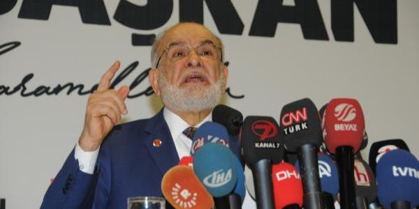 Saadet Partisi'nin Cumhurbaşkanı adayı Karamollaoğlu'ndan ilk mesaj