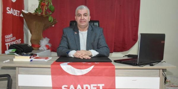 Cumhurbaşkanı Erdoğan'a destek için Saadet Partisi'nden istifa etti