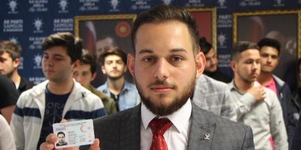 Recep Tayyip Erdoğan Üniversitesi'nde okuyan Recep Tayyip Erdoğan da aday oldu