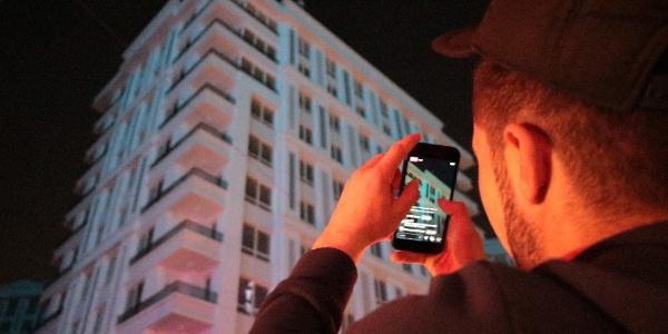Meraklı vatandaşlar intihar girişimini canlı yayınla duyurdu
