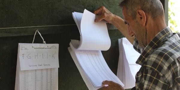 24 Haziran seçimleriyle ilgili seçmen listeleri askıda