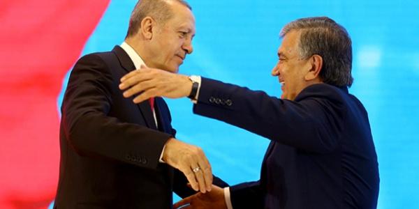Özbekistan,  Cumhurbaşkanı Erdoğan'ın ziyaretini klip yaptı