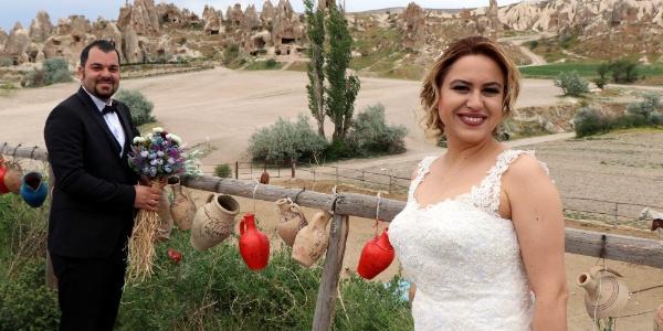 Kapadokya; gelin ve damat adayları için olmazsa olmazlar arasına girdi