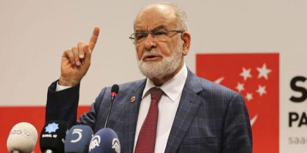 Saadet Partisi, Temel Karamollaoğlu için 100 bin imza toplamaya çıktı