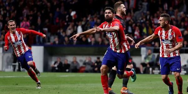 UEFA Avrupa Ligi'nde ilk finalist Atletico Madrid oldu