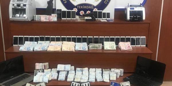 Yabancı plakalı çekicileri parçalayıp satan şebekeye operasyon: 24 gözaltı