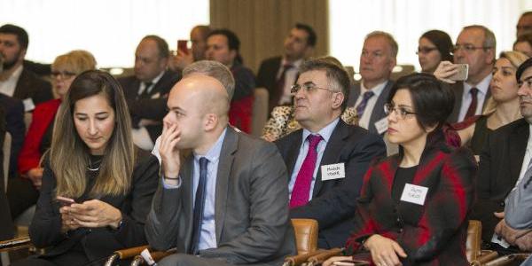 Türk Eximbank, iş dünyası temsilcilerini Londra'da buluşturdu