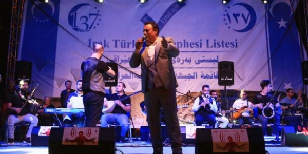 Muazzez Ersoy ve Mahmut Tucer'den Türmenler için Erbil'de konser
