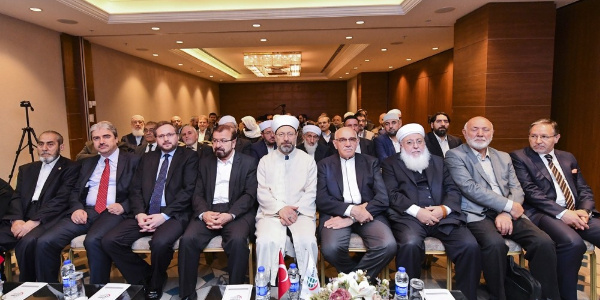 Ali Erbaş, İslam alimlerine bütün insanlığın meselelerini gündeme almaya çağırdı