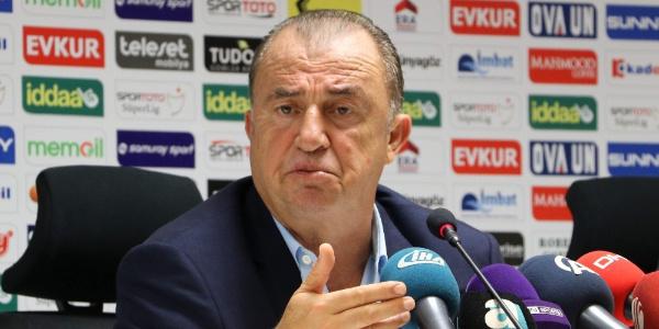 Fatih Terim'den TFF'ye Ziraat Türkiye Kupası tepkisi