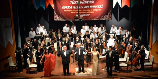 Kahramanmaraş'ta sanatseverler operayla coştu