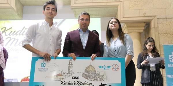 Kudüs'ü en iyi anlatan öğrenciler Kudüs yolcusu oldu