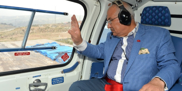 Mersin Büyükşehir Belediyesi de helikopter sahibi oldu