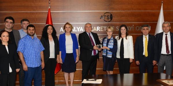 İsveçli ticaret heyeti Antalya'ya çıkarma yaptı