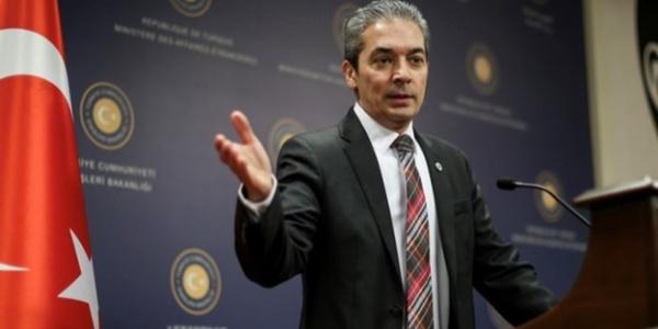 """Dışişleri sözcüsü Hami Aksoy'dan BM İnsan Hakları Yüksek Komiseri'ne """"OHAL"""" cevabı"""