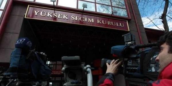YSK'nın Cumhurbaşkanlığı seçimi geçici aday listesi Resmi Gazete'de