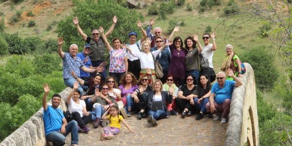 Antalyalı 29 kişilik gezi grubu Çemişgezek'e hayran kaldı.