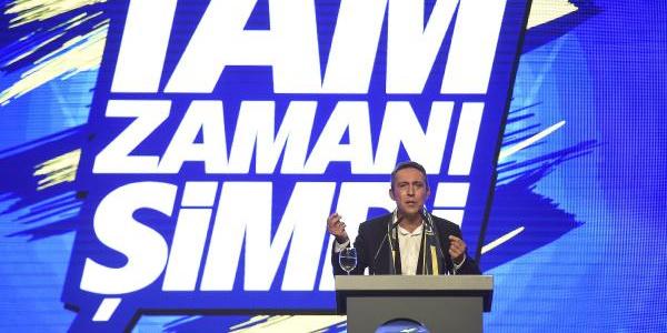 Başkan adayı Ali Koç Bostancı'da özlediği Fenerbahçe'yi anlattı