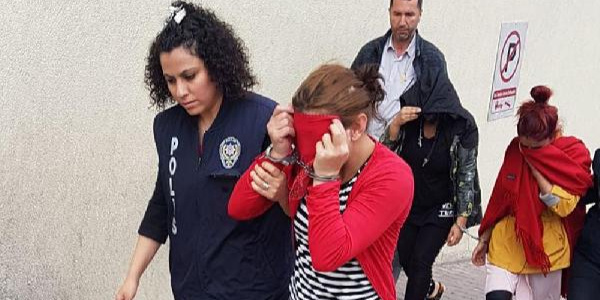 Kayseri'de 13 adrese fuhuş baskını: 7 tutuklama
