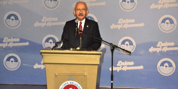 """Kemal Kılıçdaroğlu """"Aile sigortası projesi"""" ile namus sözü verdi"""