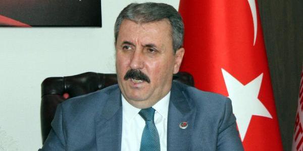 BBP lideri Mustafa Destici kontenjanla ilgili topu Cumhurbaşkanı Erdoğan'a attı