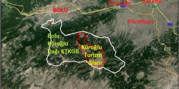 Mimarlar Odası'nın Köroğlu Dağı Turizm Bölgesi için açtığı dava Danıştay'dan döndü