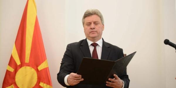 Makedonya Cumhurbaşkanı Gjeorge Ivanov'dan güvenlik itirafı: Özgürlüğümüzü kaybediyoruz