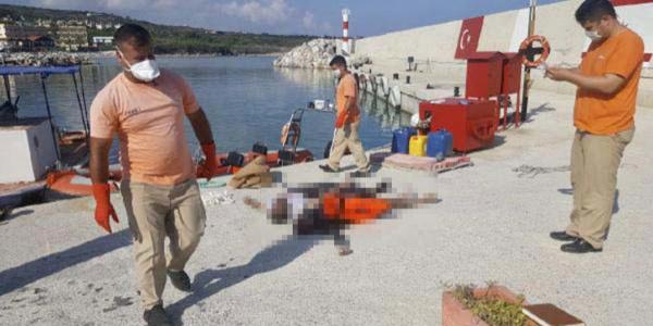 KKTC'de sahile vuran ceset sayısı her saat artıyor
