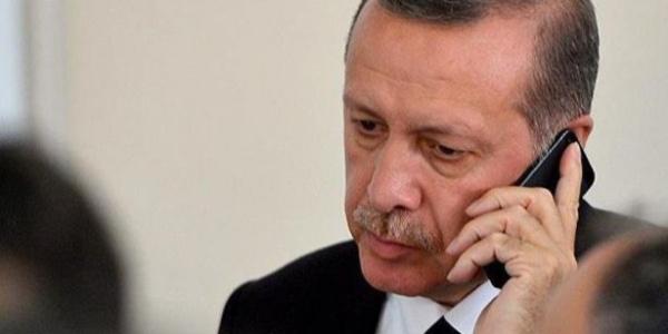 Cumhurbaşkanı Erdoğan'dan Mahmut Abbas'a taziye telefonu
