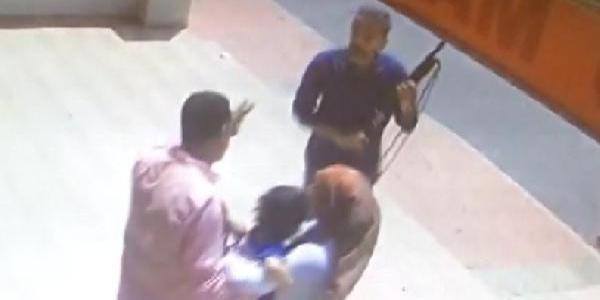 Market sahibi kendisini dolandıran şahsı çocuklarının gözleri önünde öldürdü