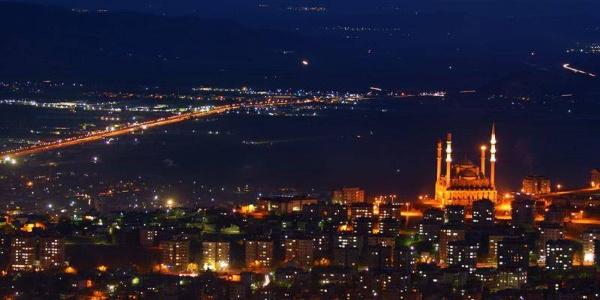 Kahramanmaraş'taki Abdülhamit Han Camii'nde 10 bin kişiyle ilk teravih