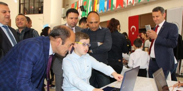 Amasya'da ilkokul öğrencileri bilgisayar oyunu yaptı