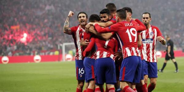 Avrupa Ligi Kupası Marsilya'yı 3-0'la geçen Atletico Madrid'in