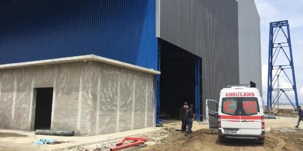 Bolu'da 30 fabrika işçisi kimyasal bir maddeden zehirlendi