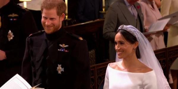 Birleşik Krallık Veliaht Prensi Harry, Meghan Markle'la evlendi